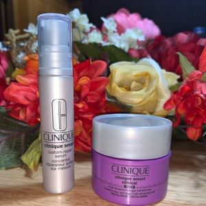 Clinique smart clinical lot of 2 new
